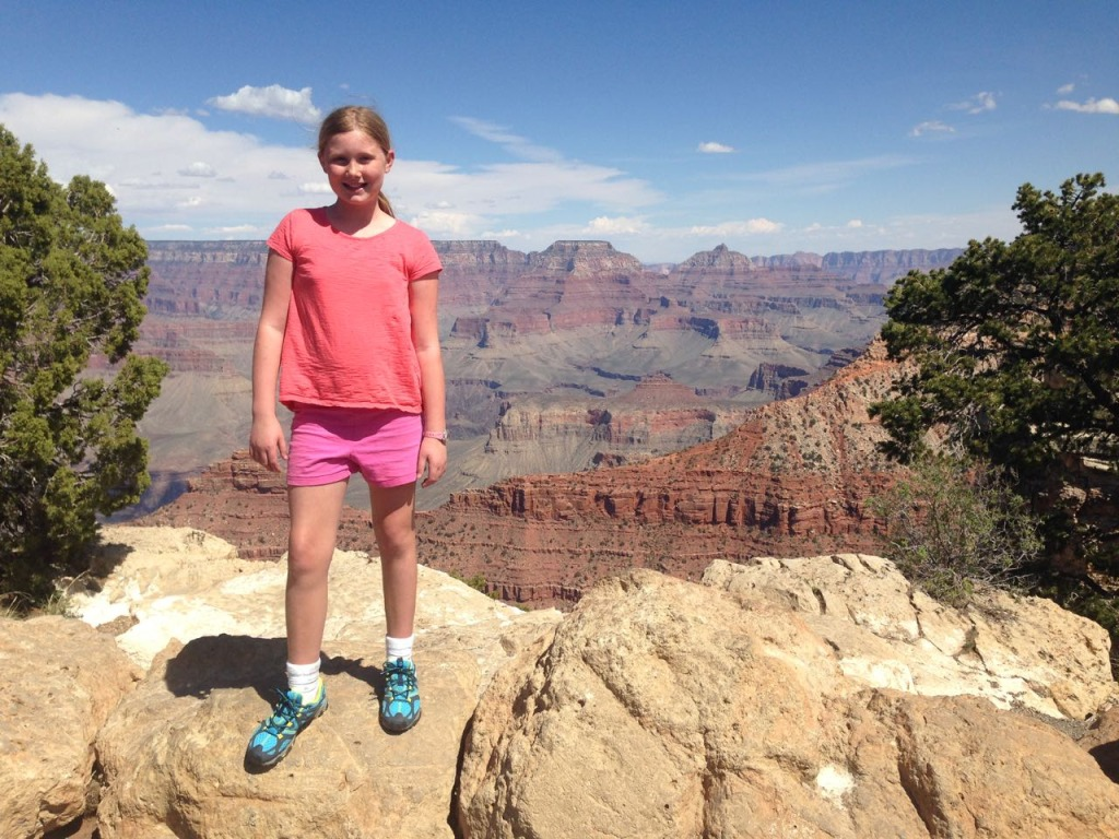 Katie at Grand Canyon